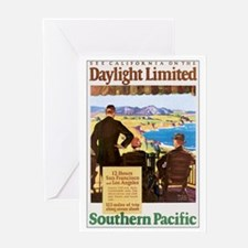 Southern Pacific CA Greeting Card