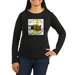 New Hampshire Women's Long Sleeve Dark T-Shirt