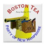 New Hampshire Tile Coaster