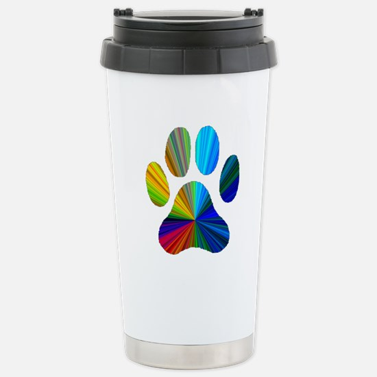 PAW PRINT Stainless Steel Travel Mug