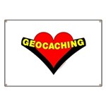 Geocaching Heart Banner