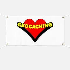 Geocaching Heart Banner