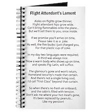 Flight Attendant's Lament Journal