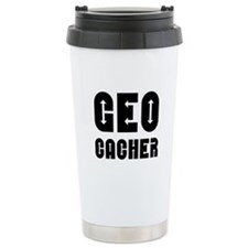 Geocacher Arrows Travel Mug