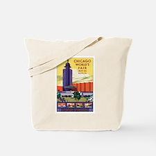 Chicago World's Fair 1933 Tote Bag