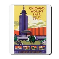 Chicago World's Fair 1933 Mousepad