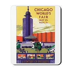 Chicago World's Fair 1933 Mousepad