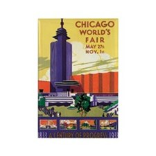 Chicago World's Fair 1933 Rectangle Magnet