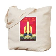 Chicago World's Fair 1933 Tote Bag