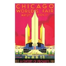 Chicago World's Fair 1933 Postcards (Package of 8)