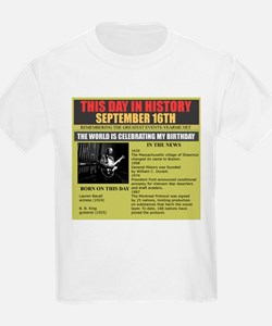 september 16th-birthday T-Shirt