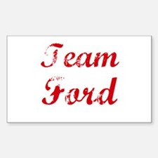 team Ford reunion Rectangle Decal