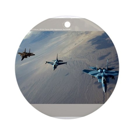 Aggressors Ornament (Round)