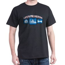Life's Priorities Farming T-Shirt