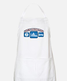 Life's Priorities Farming BBQ Apron