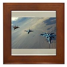 Aggressors Framed Tile