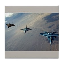 Aggressors Tile Coaster