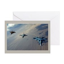 Aggressors Greeting Cards (Pk of 20)