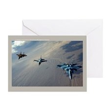 Aggressors Greeting Card