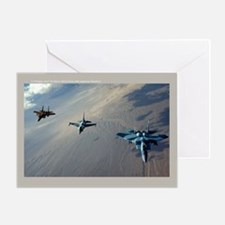Aggressors Greeting Card