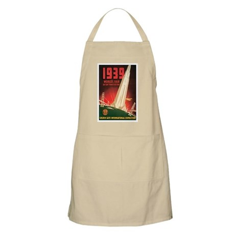 San Francisco World's Fair BBQ Apron