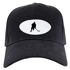 Hockey Player Baseball Hat