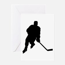 Hockey Player Greeting Cards (Pk of 10)