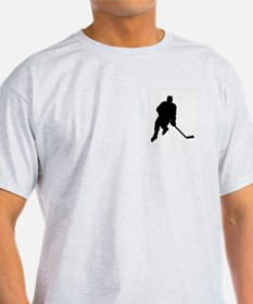 Hockey Player Ash Grey T-Shirt
