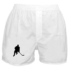 Hockey Player Boxer Shorts