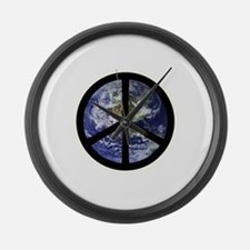 Peace on Earth Large Wall Clock