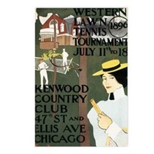 Chicago Lawn Tennis Postcards (Package of 8)