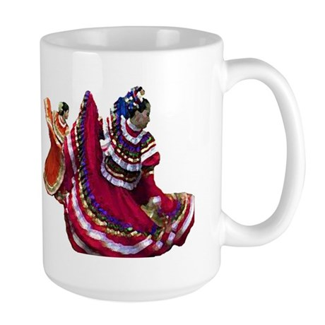 Folklorica Dancers Large Mug