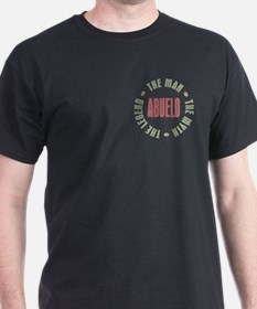 Abuelo Man Myth Legend T-Shirt