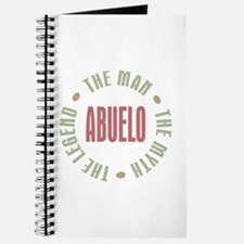 Abuelo Man Myth Legend Journal