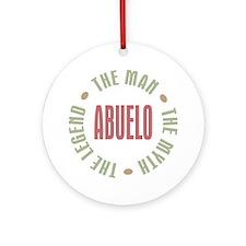 Abuelo Man Myth Legend Ornament (Round)