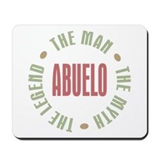 Abuelo Man Myth Legend Mousepad
