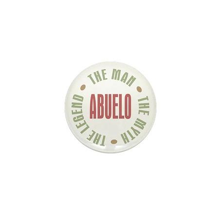 Abuelo Man Myth Legend Mini Button