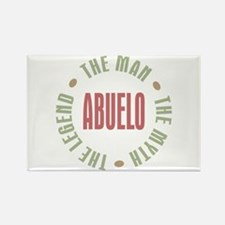 Abuelo Man Myth Legend Rectangle Magnet