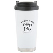 Cloth Diaper for Peace Travel Coffee Mug
