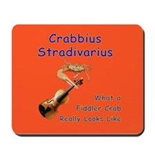 What a Fiddler Crab Looks Lik Mousepad