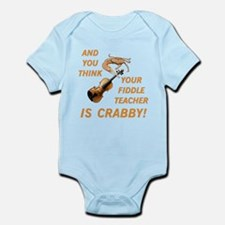 Crabby Fiddle Teacher Infant Bodysuit