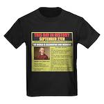 september 27th-birthday Kids Dark T-Shirt