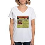 september 27th-birthday Women's V-Neck T-Shirt