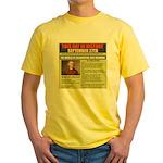 september 27th-birthday Yellow T-Shirt