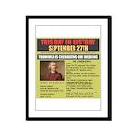 september 27th-birthday Framed Panel Print