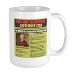 september 27th-birthday Large Mug