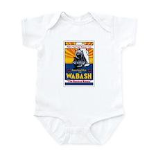 Wabash Railroad Infant Bodysuit