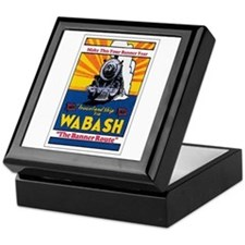 Wabash Railroad Keepsake Box