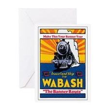 Wabash Railroad Greeting Card