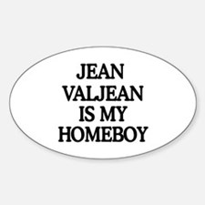 JVHB Oval Decal